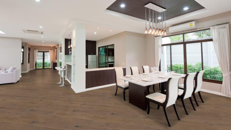 French White Oak Great Room