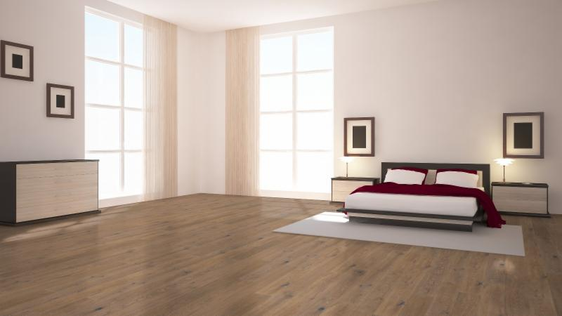 French White Oak Bedroom