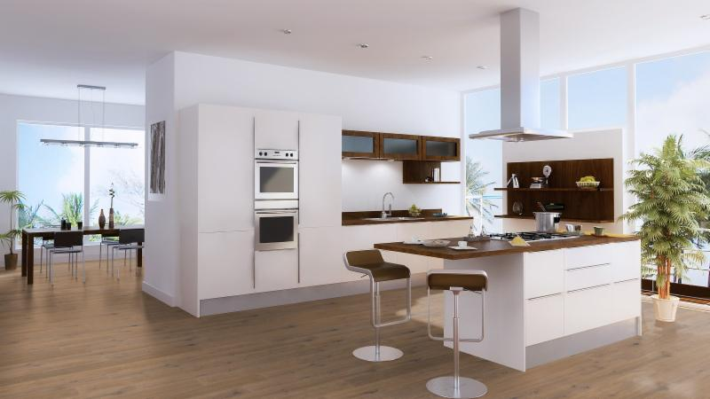 French White Oak Kitchen